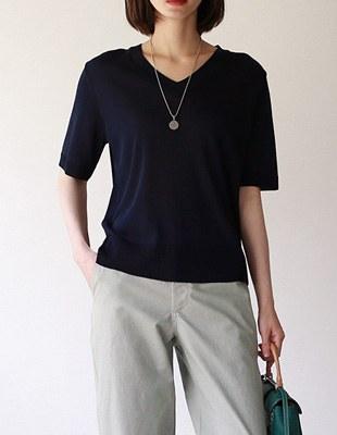 mate v-neck knit
