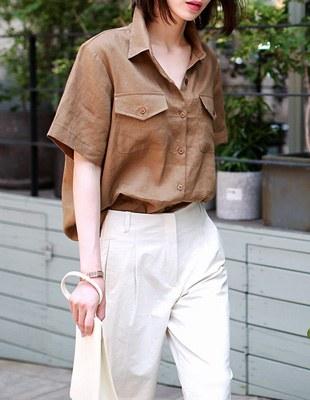 after linen shirts