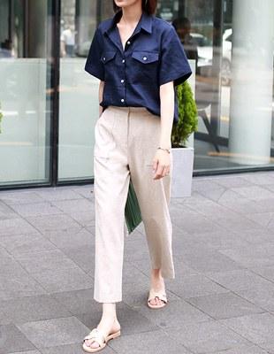 Nicole linen pants