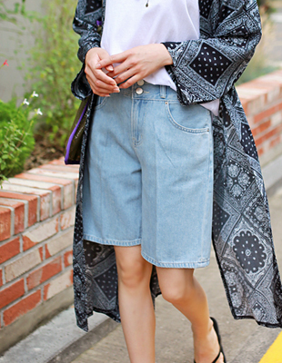 Alice half denim