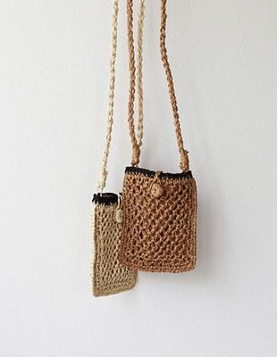 natural phone bag