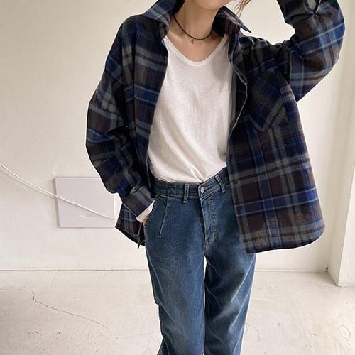 Check Vintage Long Shirt