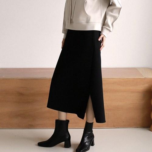 Stretch Slit Skirt